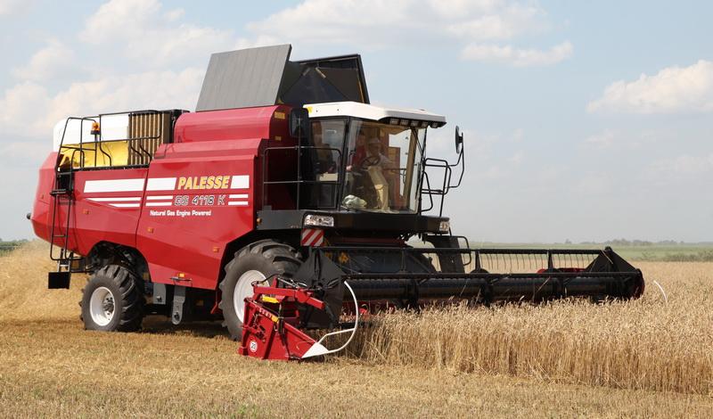 La cosechadora de granos KZS-4118K PALESSE GS4118K