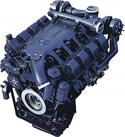 Двигатель Mercedes Benz