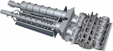 Роторы зерноуборочного комбайна GS 3219