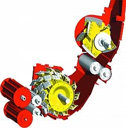 Прямоточная схема проводки массы