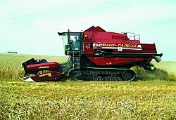 Уборка на переувлажнённых почвах