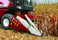 Уборка кукурузы на зерно